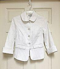 REQ White Blazer Jacket Size 4