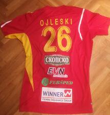 GOCE OJLESKI Match Worn Jersey Handball Macedonia National team