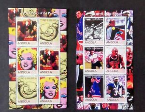 Briefmarken Angola 2 Blöcke postfrisch mnh