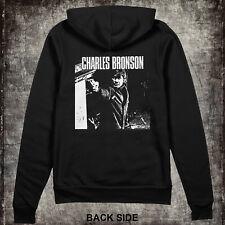CHARLES BRONSON -  Zip Up Hoodie Sweatshirt - Punk, powerviolence, grindcore, HC