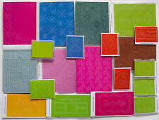 CLEARANCE Bumper 20 Sizzix Embossing Folders Mixed Bundle UK / SPAIN ONLY