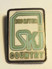 Vintage Big River Ski Country Australia? Lapel Tic Tac Hat Pin