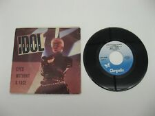 """Billy Idol eyes without a face - 45 Record Vinyl Album 7"""""""