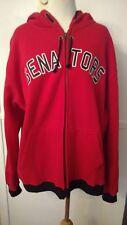 NHL Ottawa Senators Red & Black Zippered Hoody Sweeter