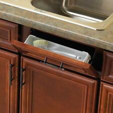 Kitchen Sink Countertop Front Tray Tip Out Hinges Cabinet Storage Organizer New