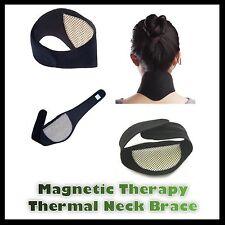 Terapia magnetica TERMICA Dolore Sollievo AUTORISCALDANTI COLLO BRACE Pad Supporto Cinghia
