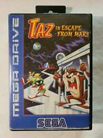 Taz in Escape from Mars SEGA MEGA DRIVE 1994 Action/Adventure (Tested & Working)