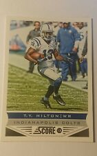 NFL Trading Card T.Y. Hilton Indianapolis Colts Score 2013 Panini