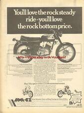Jawa-CZ 250 Motorcycle 1977 Magazine Advert #1849