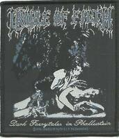 CRADLE OF FILTH dark faerytales 1996 - WOVEN SEW ON PATCH - no longer made COF