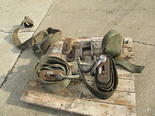 Adjustable Lifting Strap Assemblies 12,000 Pound Rated, 1 Lot of 5 Units, Used