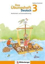 Das Übungsheft Deutsch 3 von Stefanie Drecktrah (2016, Taschenbuch)