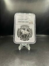 More details for ngc graded 1977 silver proof silver jubilee uk 25 pence crown pf69