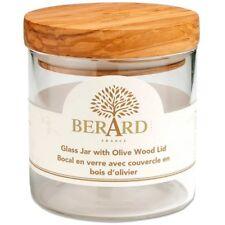 Berard 35100 Pot Verre Borosilicate/couvercle Olivier 400 ml