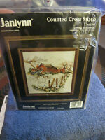 Janlynn Spring Serenade Counted Cross Stitch Kit 80-207  NEW