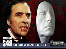 NEW CHRISTOPHER LEE DRACULA LIFE-SIZE Life Cast in Lightweight Resin