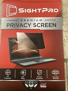 SightPro 17 Inch Computer Privacy Screen Filter 16:10 Widescreen Monitor
