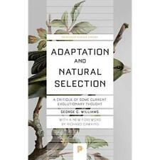 Adaptation and Natural Selection: A Critique of Some Cu - Paperback / softback N