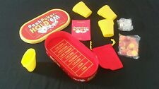 Peek Poker Hold'em Dice Game in Oval Tin 4 Peekers Un Punched