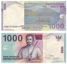 Indonesia 1000 Rupiah 2012 P-141L Banknotes UNC