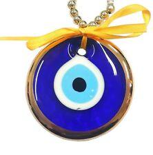 Nazat boncuk colgaduras 22m ojos de vidrio con oro turquía perlas remolques nz29
