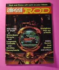 STREET ROD MAGAZINE APRIL/1973...RACK & PINION WILL WORK WITH YOUR I-BEAM AXLE