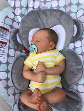 """Deena's Realistic Reborn Baby Boy (Jaxson) Asleep 19"""" long"""
