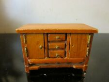 Vintage Dollhouse Miniatures Wooden dresser ~