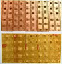 10 x Electronics Prototyping Stripboard 25x64mm 9 Tracks x 25 Holes Veroboard