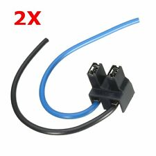 2x H7 Headlight Bulb Holder Outlet Lamp Base Car Connector Plug Wire Socket 2Pin