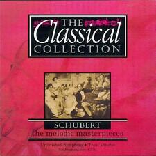 SCHUBERT - SYMPHONY NO 8: UNFINISHED / ANTON NANUT + PIANO QUINTET IN A: TROUT