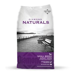 PRICED TO SELL Diamond Naturals Small Breed Chicken & Rice Dry Dog Food 18 lbs