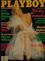 Playboy April 1997 | Joey Heatherton Kelly Monaco Kim Holliday  #7609