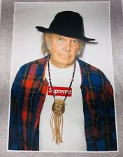 Supreme Neil Young Tee Short Sleeve Gray Graphic Photo Tee Shirt Size XL