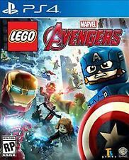 PLAYSTATION 4 LEGO MARVEL AVENGERS BRAND NEW VIDEO GAME