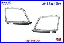 Mercedes Headlight Door Trim Ring Bezel W129 Both Left & Right