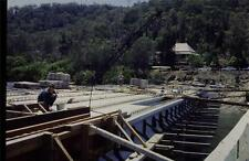 35mm Colour Slide- Woronora Bridge under Construction 14  NSW , Australia 1970's