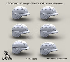 Live Resin 35040 x 1/35 US Army PASGT Helmet w/Cover