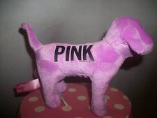 Victorias Secret Pink Velour Purple Dog NEW