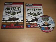 MILITARY COLLECTION 2008 Pc Add-On Flight Simulator Sim 2004 & X FS2004 FSX
