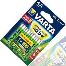 4x Varta bateria 1600mah NiMH accu Mignon AA ready 2 use 1600 mah ^ blister