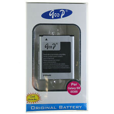 GOOP BATTERIE RECHARGEABLE LI-ION 4.35V  2100MAH POUR i9300 SAMSUNG GALAXY SIII