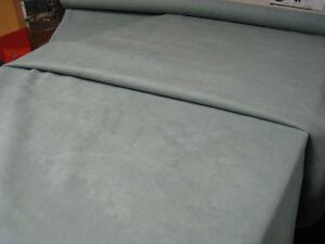 Light Green Aqua Ocean Novasuede Suede Alcantara Car Boat Fabric 10 metre Roll