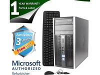 HP Desktop Computer 6200 Pro Intel Core i5 2400 (3.10 GHz) 4 GB DDR3 1 TB HDD Wi