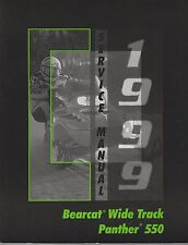 1999 ARCTIC CAT SNOWMOBILE BEARCAT WIDE TRACK, PANTHER 550  SERVICE MANUAL (916)