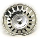 Stainless Steel Kitchen Sink Replacement Drain Waste Plug Basin Strainer Drainer
