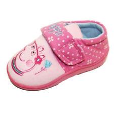 Pantoufles roses moyens pour fille de 2 à 16 ans