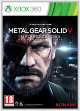 Metal Gear Solid V 5 Ground Zeroes Xbox 360 MINT UK Release