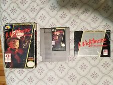 A Nightmare On Elm Street (Nintendo NES) Complete in Box!