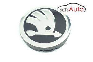 1 X Genuine Wheel Centre Cap Logo Badge 56mm for SKODA
